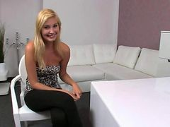 Amateur Blond Casting