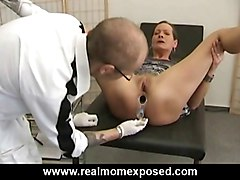 Gyno pervert fucks his sexy patient
