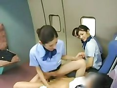 Asiatiche Stewardess