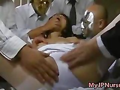 Real asian nurse has hard core intercourse part1