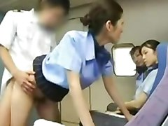 Aziatisch Stewardess