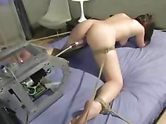 Bound Teen Fucking Machine