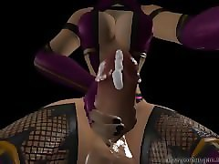 dickgirl mileena reversed pov blowjob