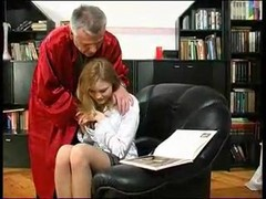 Russian Teen Student Fucked With Teacher