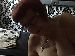 mature manchester wife sucking my small cock