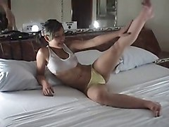 young girl panties tease yellow pt1