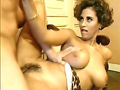 cuckolding cougar wife enjoys a threesome