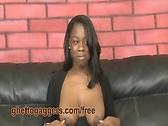 black teen deepthroats big white dick