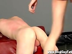 head shaving gay sex movies he gives the straight bottom slew of