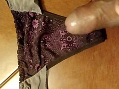 cum in sexy thongs