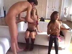 Hot Russian Teen 3 Way