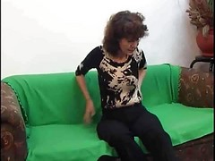 Russian Mature With A Real Hairy Cunt