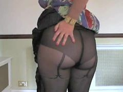 A Milf In Pantyhose And A Great Ending