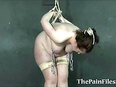 fat slavegirls needle bdsm and extreme tit tortures of sub
