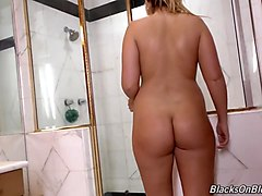 white daughter melissa suck and fuck bbc in sauna