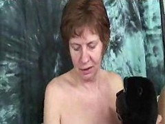 Hairy Granny With Saggy Titties And Big Nipples