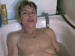 Masturbating In Bathroom