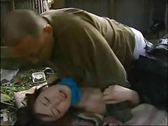 Japanese Love Story With This Little Teen Nailed By Older Guy