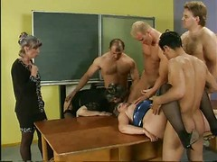 Three Grannies Gangbang