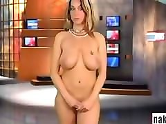 naked news - raya's audition