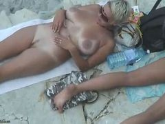 Sexy Mature Nude Beach