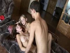 Amazing Russian Threesome