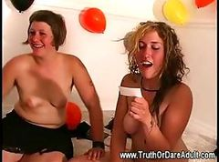 Oral licking and french kissing