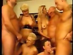 amazing filthy sex party with my german friends on cam