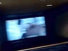 telugu hyderabad old city aunty exposed in movie theatre