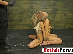 two horny whores get tied up and face fucked like never before