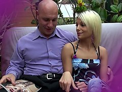 La Novice - Hot French newbie teen enjoys hardcore pussy and ass fuck