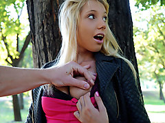 Kimber Delice in French Hussy Makes Bank - PublicPickups