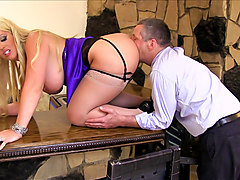 Alura Jenson,Jimmy Broadway in FemDom Ass Worship #24, Scene #03