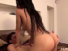 la novice - french babe melody gets anal fucked by horny partner