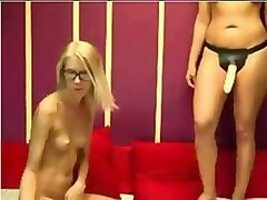 Blonde lesbian session trib and more