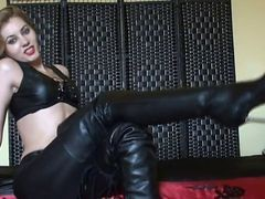 Slut In Leather - Bostero