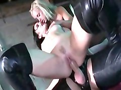 Incredible pornstars Savannah Gold and Elizabeth Lawrence in amazing blowjob, big tits sex clip