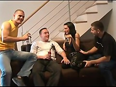 Creampie gangbang 3 german guys with hot junior gypsy girl