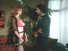 Young Ron Jeremy fucking a big tits milf