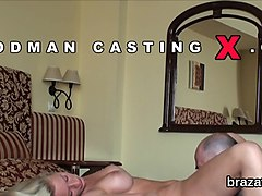 Casting sex kitten leaves after hardcore fucking and anal screwing