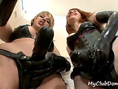femdom babes show their strapons