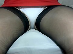 Crossdresser pantyhose stockings 092