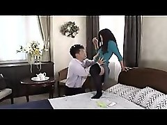 enticing asian wife gets her holes devoured and fingered by