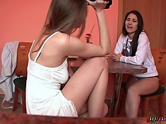 Eufrat & Jess in Our British Girlfriend - Girlfriends