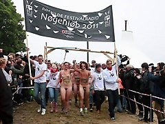 festival in norway with naked peeps going tribal