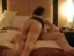 Asian mature wife takes care of hubby 3