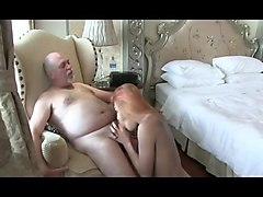 Pattaya ladyboy bim fucks older guy