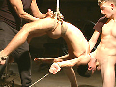 Extreme edging with advance bondage positions