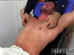 sexy hunk gets his amazing feet tickled and worshiped