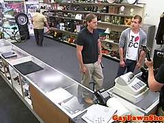 amateur straight fucked in pawnshop